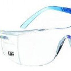 LLG-Schutzbrille, Classic light,hellblau, Klare Scheibe, Kratzfest, Beschlagfrei